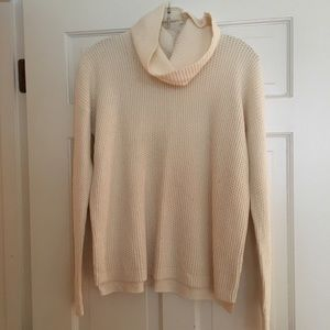 Madewell Sweater with Removable turtleneck
